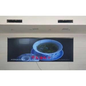 济南中铁五局项目部46寸3.5mm4X6工程案例